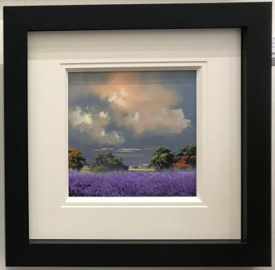 Lavender Fields (12 x 12) by Allan Morgan