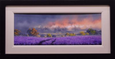 Lavender Landscape i