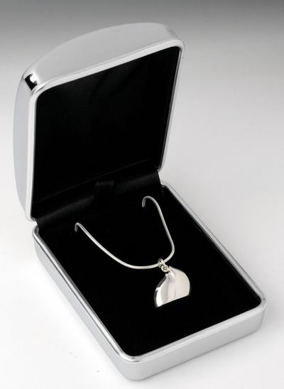 Lean On Me - Sterling Silver Necklace by Govinder Nazran