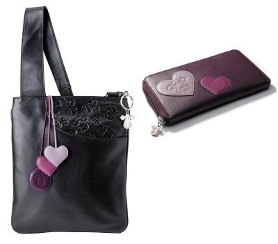 Leather Handbag & Purse