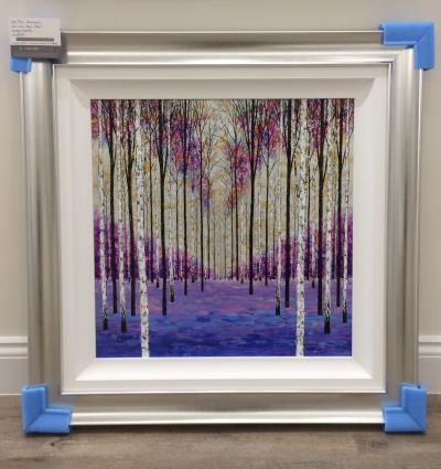 Lilac and Blue Birch