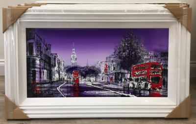 London at Night by Nigel Cooke