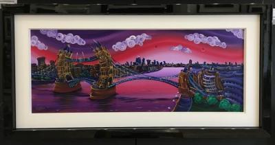 London Sunrise by Rayford