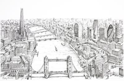 London Vista by Phillip Bissell