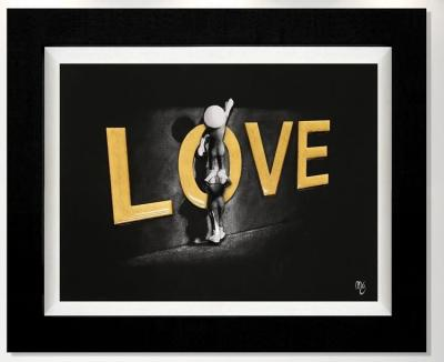 Love Lifts Us Up- 3D Gloss by Mark Grieves