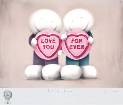 Love You Forever - Remarque by Doug Hyde