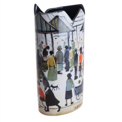 Lowry Market Scene - Vase