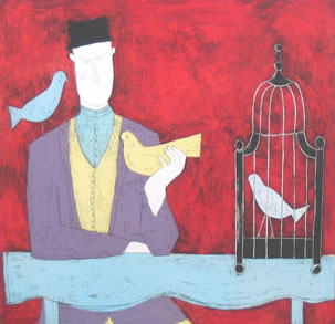 man-with-bird-cage-red-3678