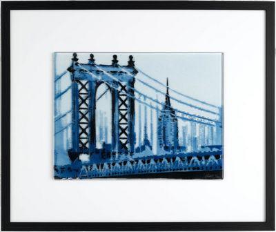 Manhattan Bridge - Blue