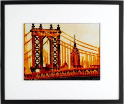 Manhattan Bridge - Orange
