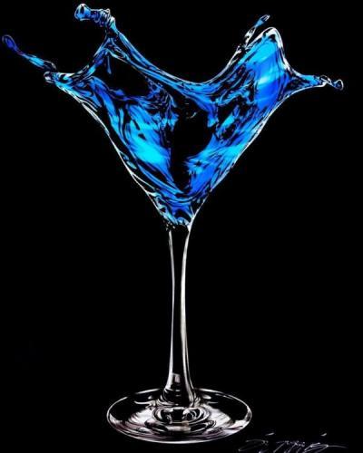 Martini- Blue