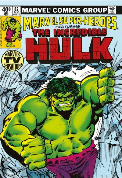 Marvel Super Heroes Featuring The Incredible Hulk #82 Marvels TV Sensation