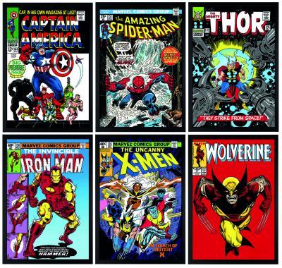 Marvel Superheroes - Set of 6
