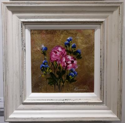 Metallic Floral II (10 x 10)