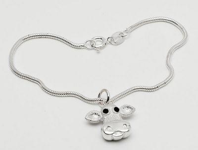 Moo - Sterling Silver Bracelet