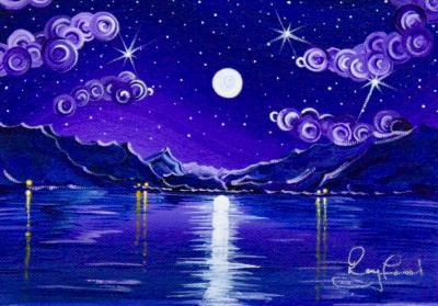 Moonlight on Derwent