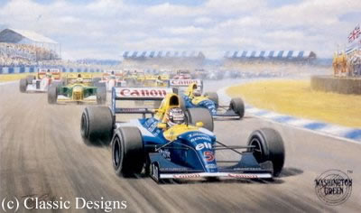 Nigel Mansell - World Champion 1992