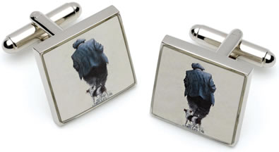One Man & His Dog  - Cufflinks