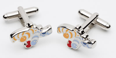 Opposites Attract - Cufflinks by Peter Smith