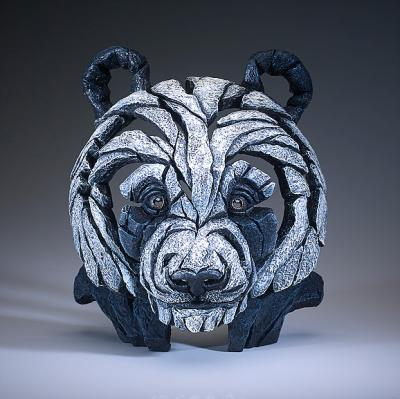 Panda - Bust by Edge Sculptures by Matt Buckley