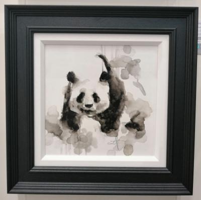 Panda - Watercolour