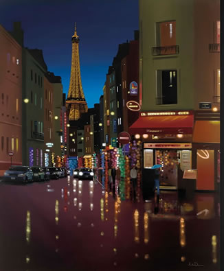 Parisienne Twilight by Neil Dawson