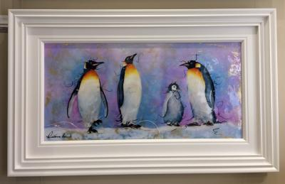 Penguin Family (36 x 18)