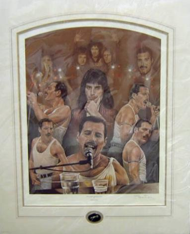 Queen - Freddy Mercury - The Show Must Go On by Stephen Doig