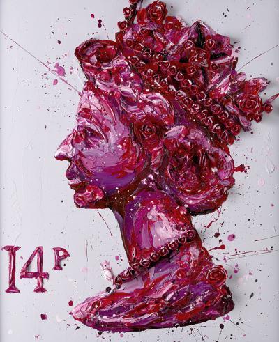 Queen of Roses- Paper