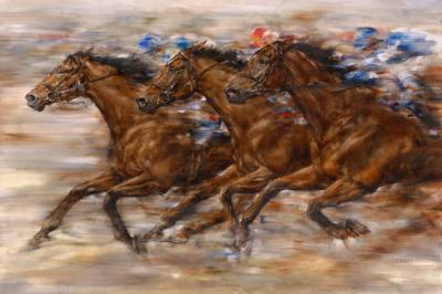 Racing by Gary Benfield