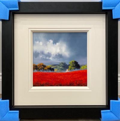 Red Fields IV (12 x 12)