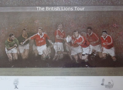 Roar Of The Lions - British Lions vs South Africa by Stephen Doig
