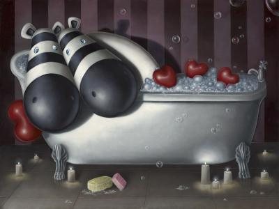 Rub-A-Dub Tub - Canvas