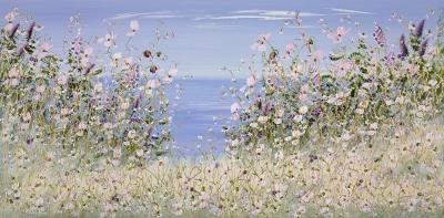 Seaside Blue II by Mary Shaw