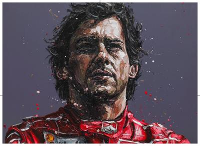 Senna 24th Anniversary Commerative - Canvas