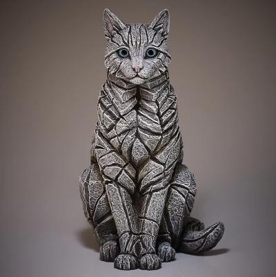 Sitting Cat- White