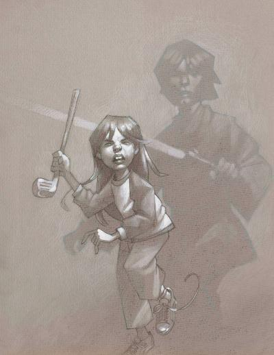 Skye Walker - Sketch by Craig Davison