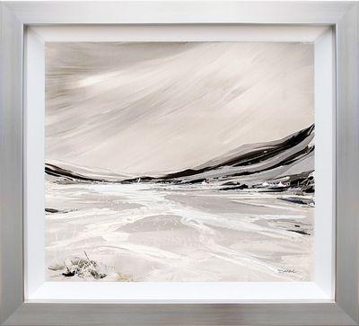 Sparkling Shores (On Aluminium)