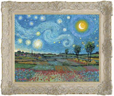 Starry Night With New Day Dawning