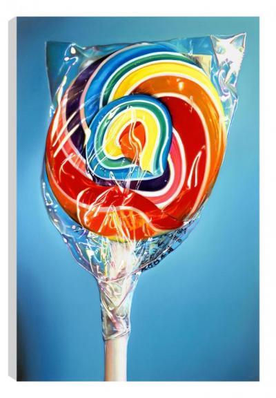 Still Life - Rainbow Swirl (Canvas)
