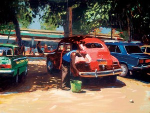 Streets Of Havana II by Jeremy Sanders