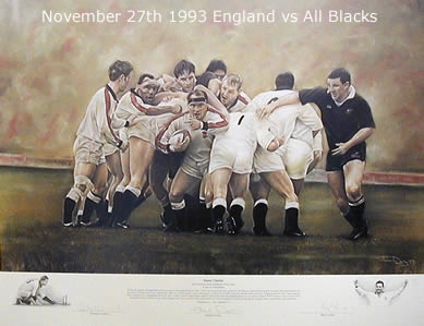 Sweet Chariot - England vs All Blacks 1993 by Stephen Doig