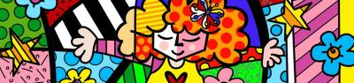 Sweet Hug by Romero Britto