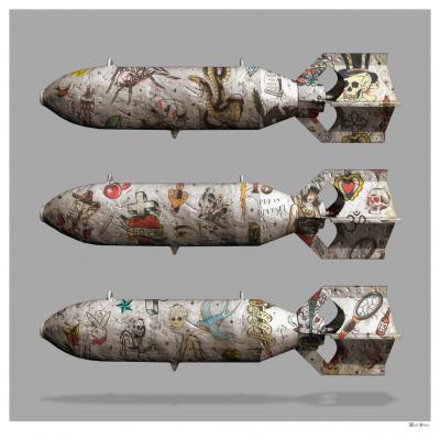 Tattoo Bombs - Large