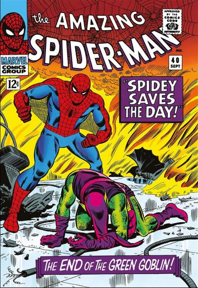 The Amazing Spider Man #40 Spidey Saves The Day