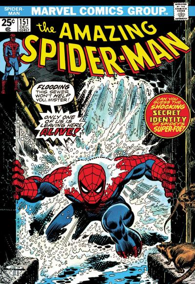 The Amazing Spiderman #151 - Only One Of Us Is Leaving Here Alive