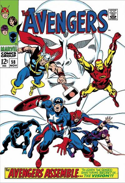 The Avengers #58 -  The Avengers Assemble