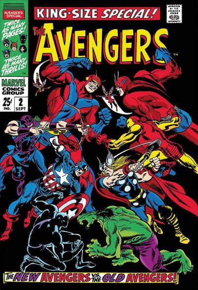 The Avengers #67 - King-Size Special #2