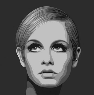 The Diamond Dust Collection - Twiggy by Simon Claridge