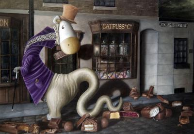 The Flamboyant Wriggling Wonky Wonder - London, 1839
